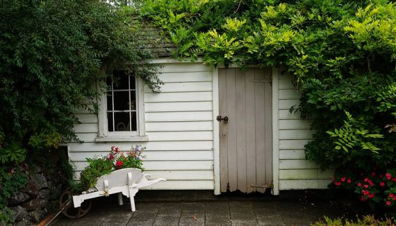 build garden shed